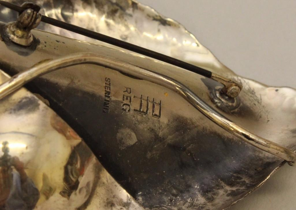 Sterling Silver Brooch - 4