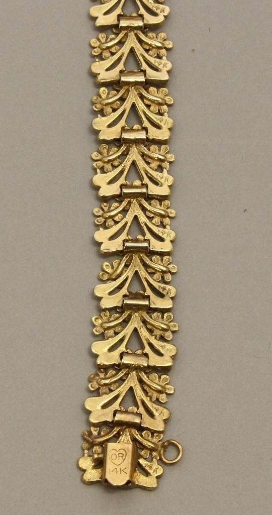 Gold Bracelet - 3