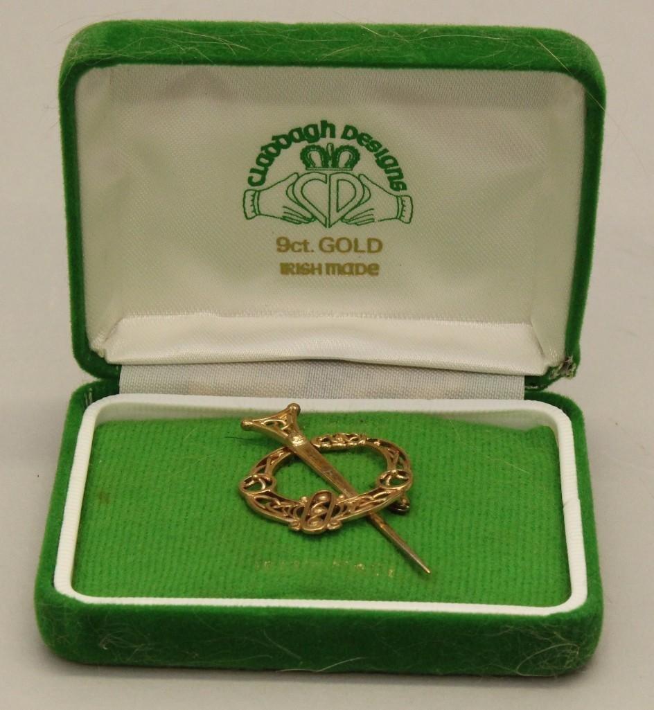 Gold Pin - 2
