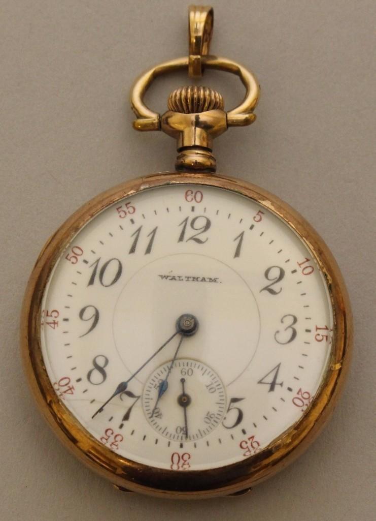 Gold Filled Pocket Watch