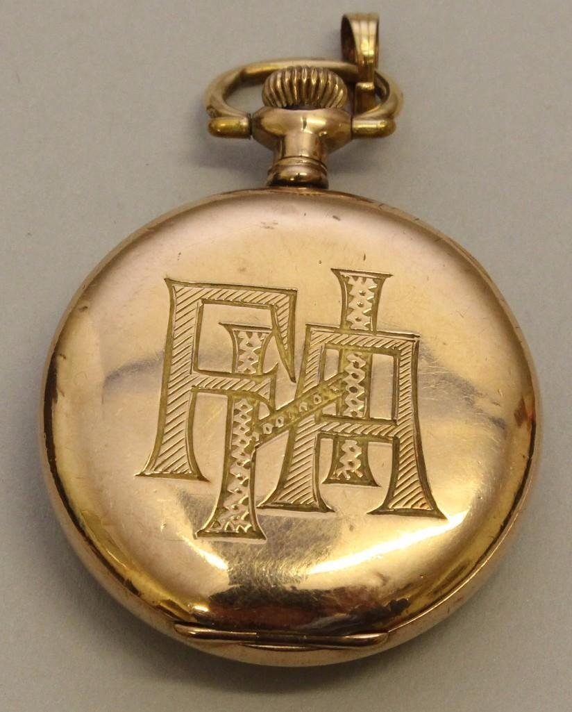 Gold Filled Pocket Watch - 2