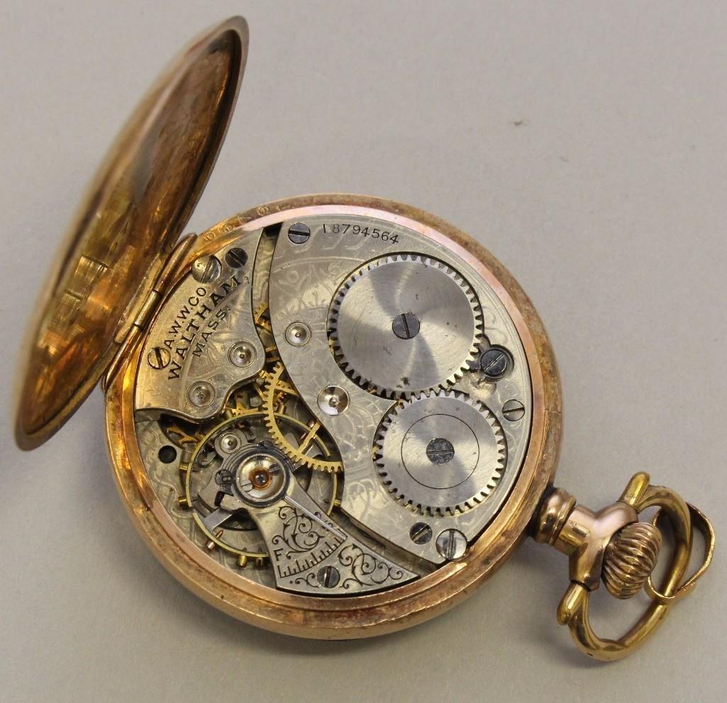 Gold Filled Pocket Watch - 3