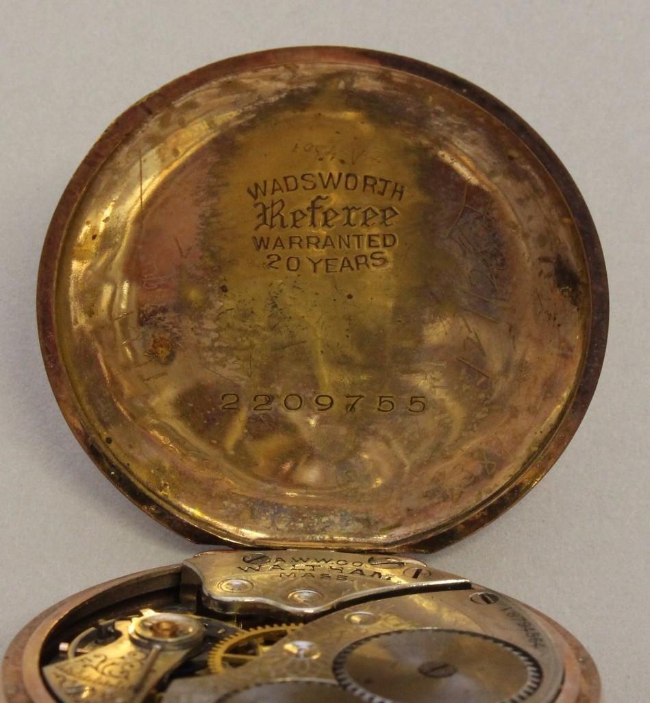 Gold Filled Pocket Watch - 4