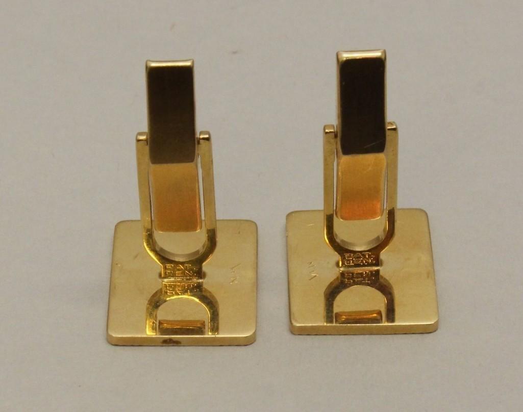 Gold Cufflinks - 2