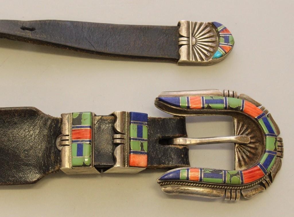 Zuni Ranger Buckle Set