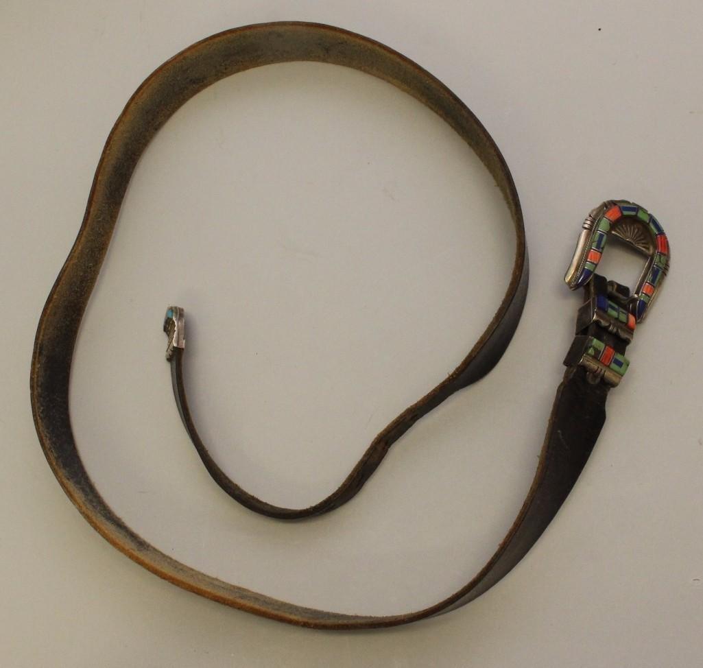 Zuni Ranger Buckle Set - 3