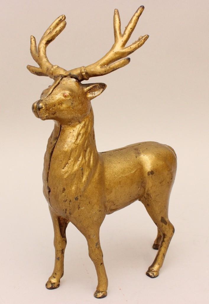 Still Bank of a Reindeer Buck