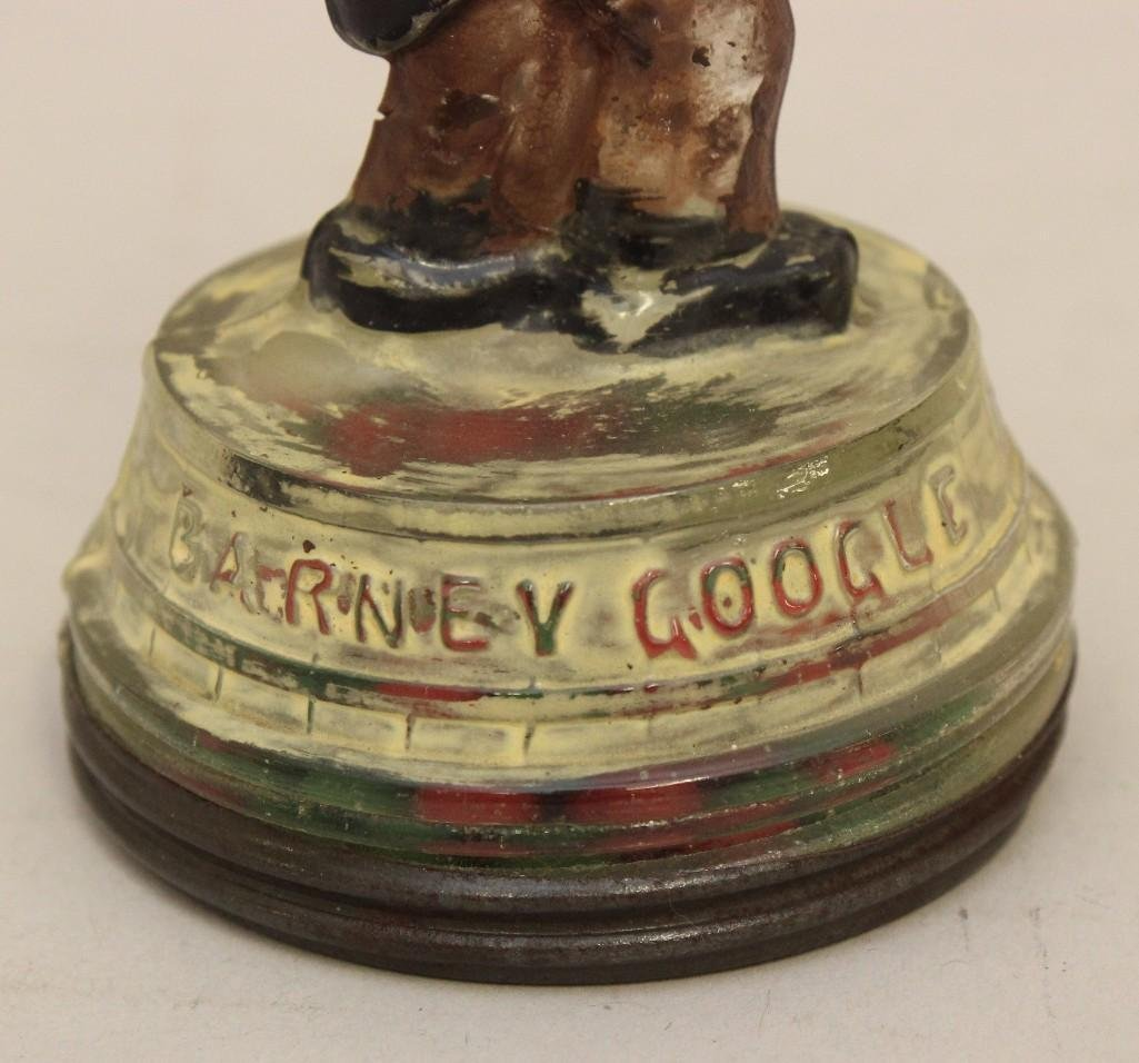 Glass Candy Container of Barney Google - 3