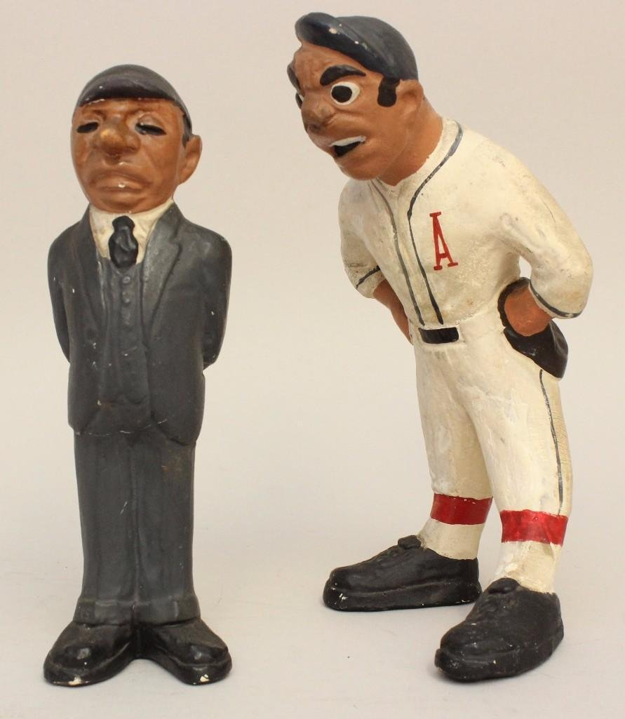 2 Rare 1941 Rittgers Baseball Figures