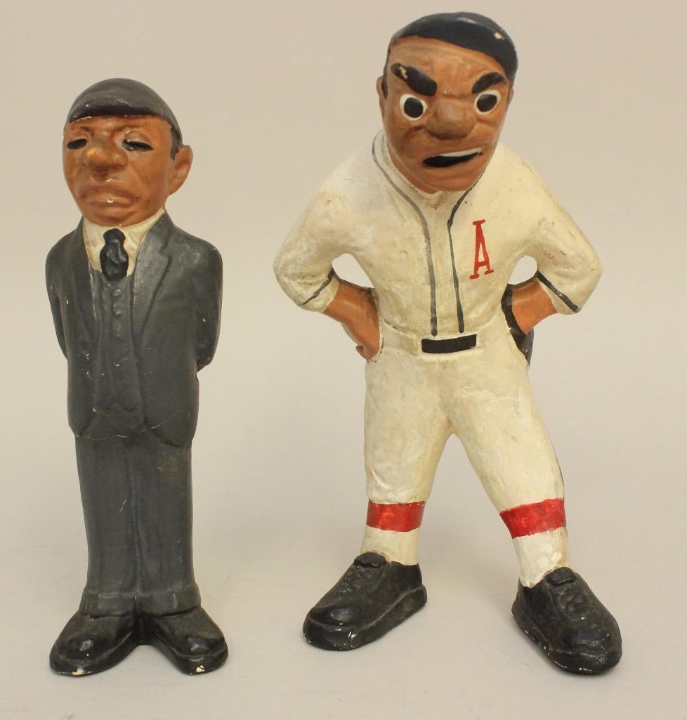 2 Rare 1941 Rittgers Baseball Figures - 2