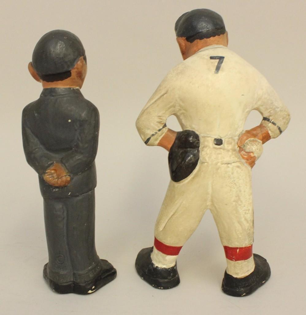2 Rare 1941 Rittgers Baseball Figures - 3