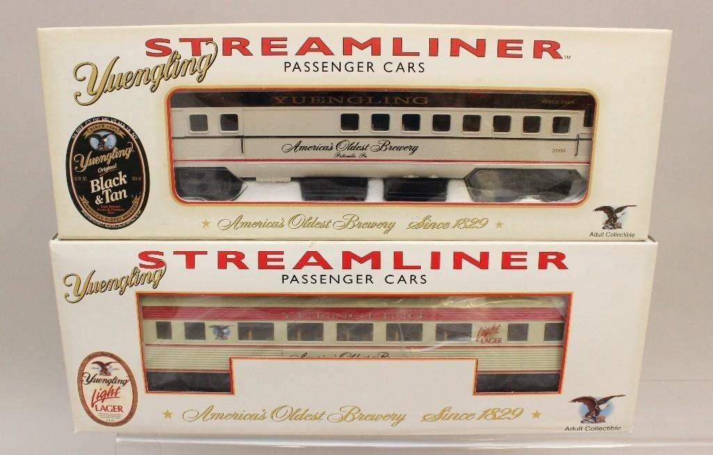 (8) Piece Yuengling Train Set of Steam Engine and Cars - 3