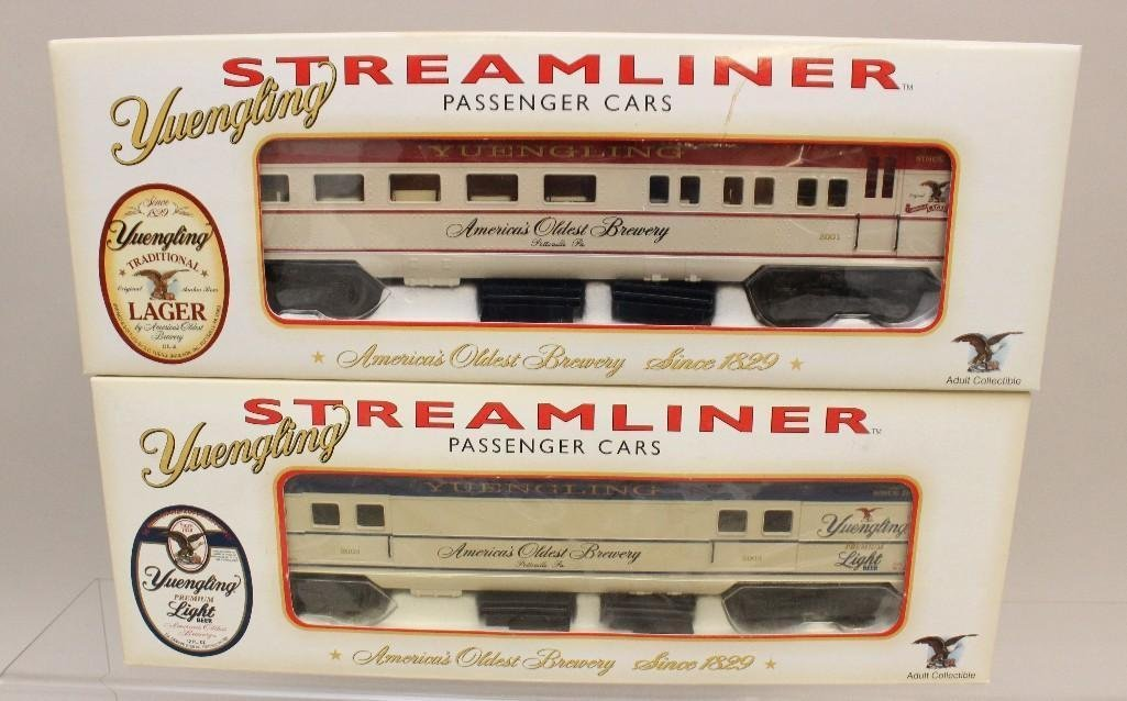 (8) Piece Yuengling Train Set of Steam Engine and Cars - 4