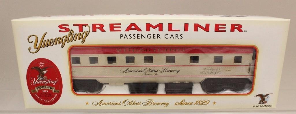 (8) Piece Yuengling Train Set of Steam Engine and Cars - 5