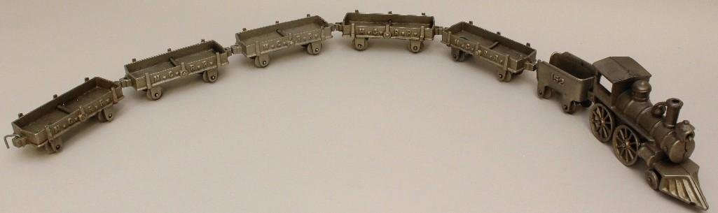 Lot of M.C.R.R Train Set