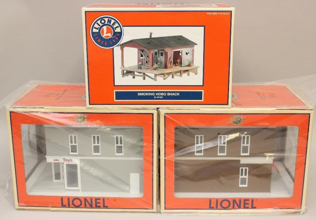 Lot of 3 Lionel Buildings