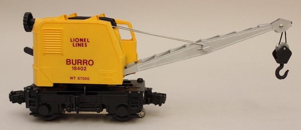 Lionel Lines Burro Operating Crane - 4