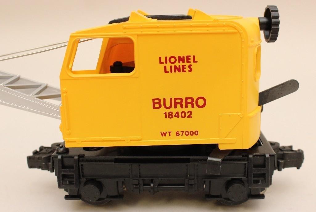 Lionel Lines Burro Operating Crane - 6