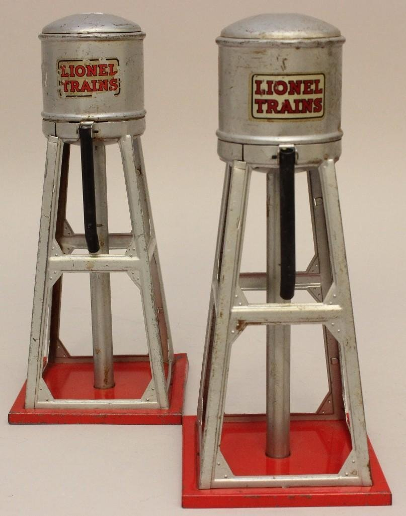 Lot of 2 Lionel Water Towers