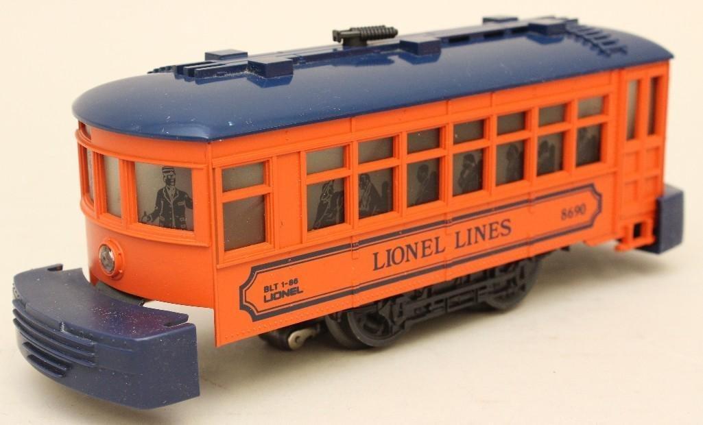 Lionel Trolley Car