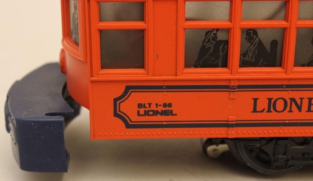 Lionel Trolley Car - 4