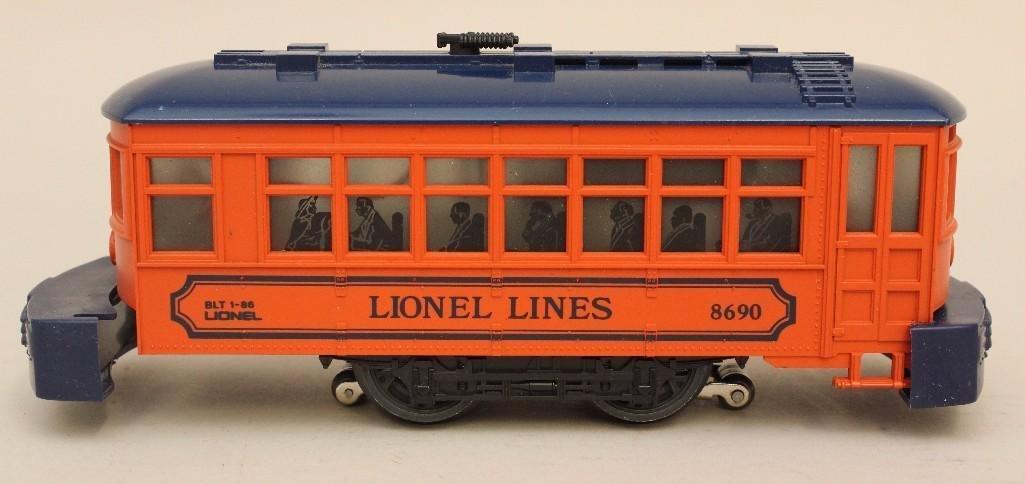 Lionel Trolley Car - 5