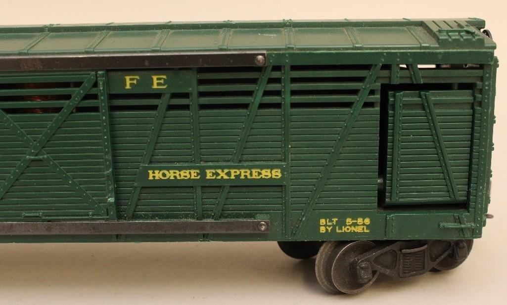 Lionel Horse Car - 4