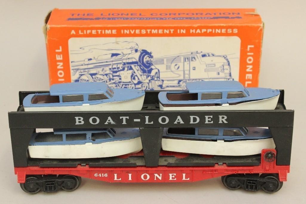 Lionel Boat Transport Car
