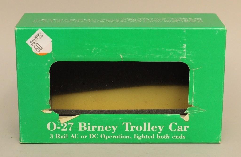 Bowser Trolley Car - 3