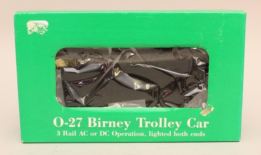 Bowser Birney Trolley Car - 2