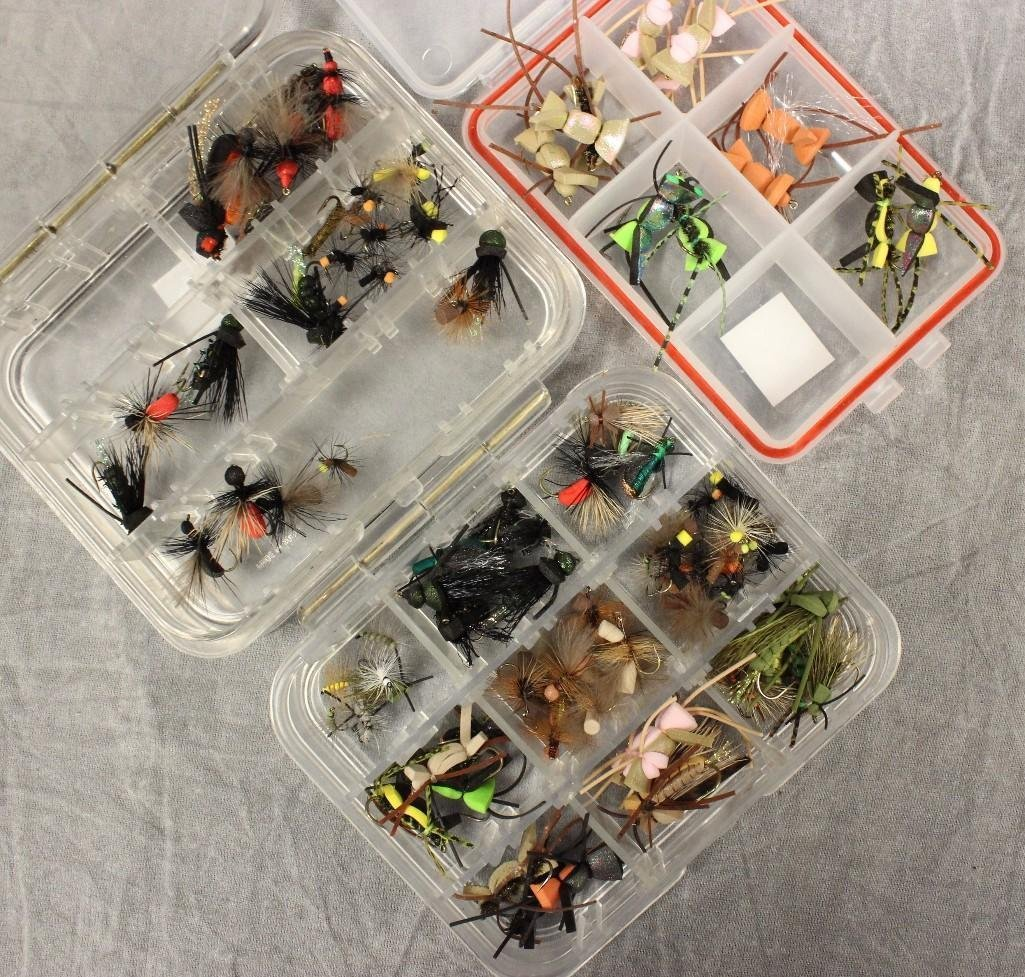 (7) Small Fly Boxes