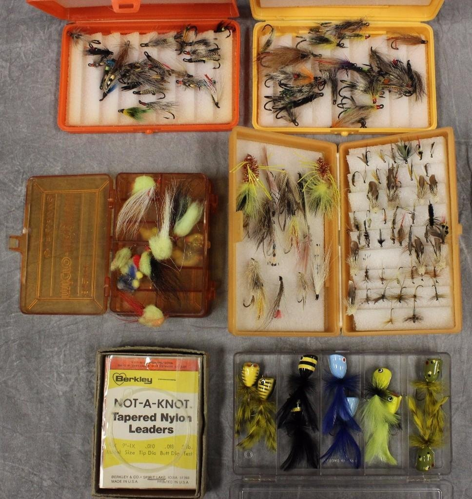 (5) Small Boxes of Flies