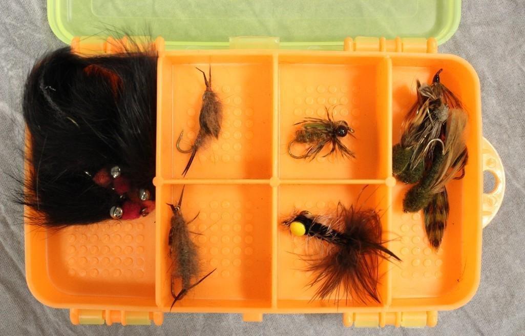 (5) Boxes Various Flies - 9