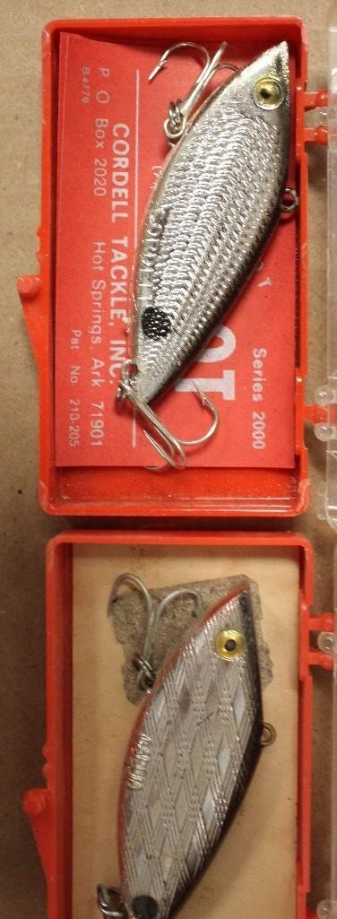 (19) Crankbaits Inc., Cotton Cordells, Rebels, Garcias - 8