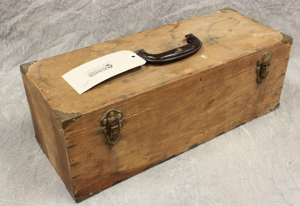 Old Wooden Tackle Box