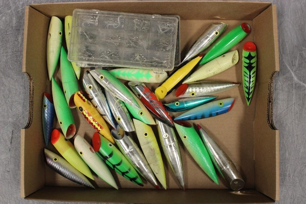 (2) Boxes of Various Saltwater Poppers - 6