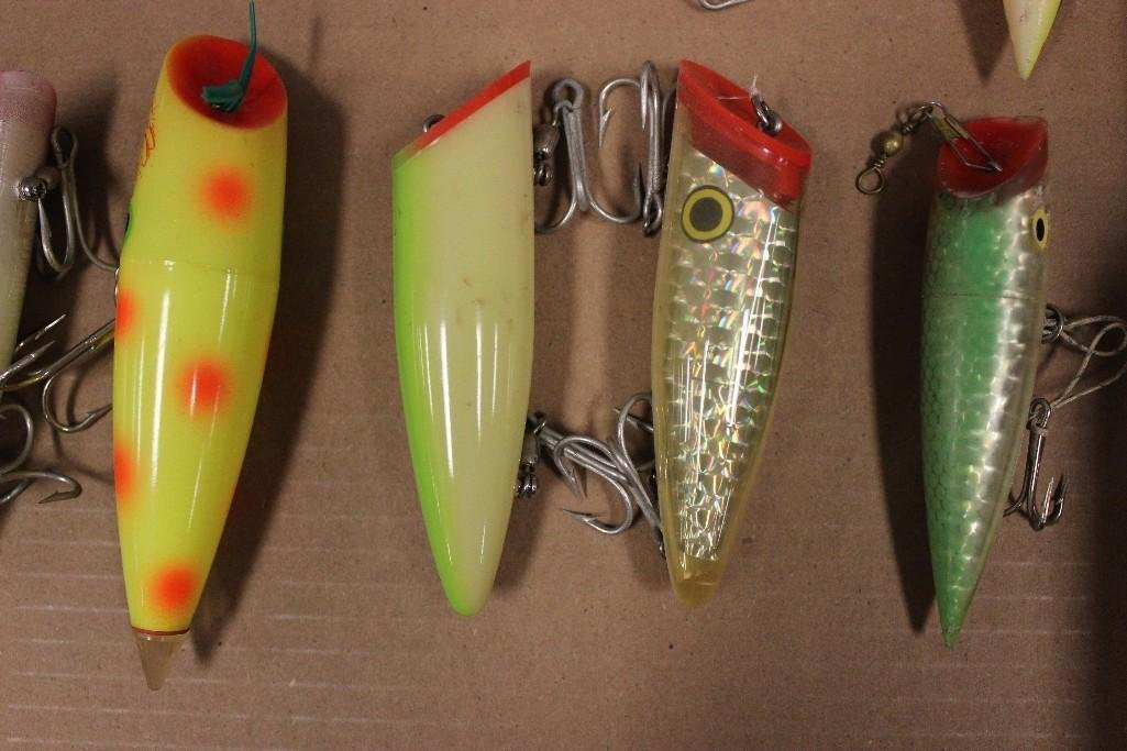 (15) Various Saltwater Poppers - 4