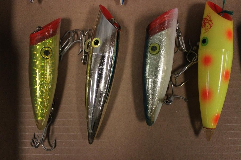 (15) Various Saltwater Poppers - 5