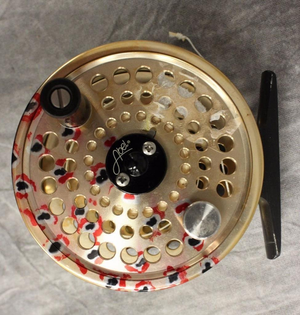 Abel TR-2 Gold Model Fly Reel