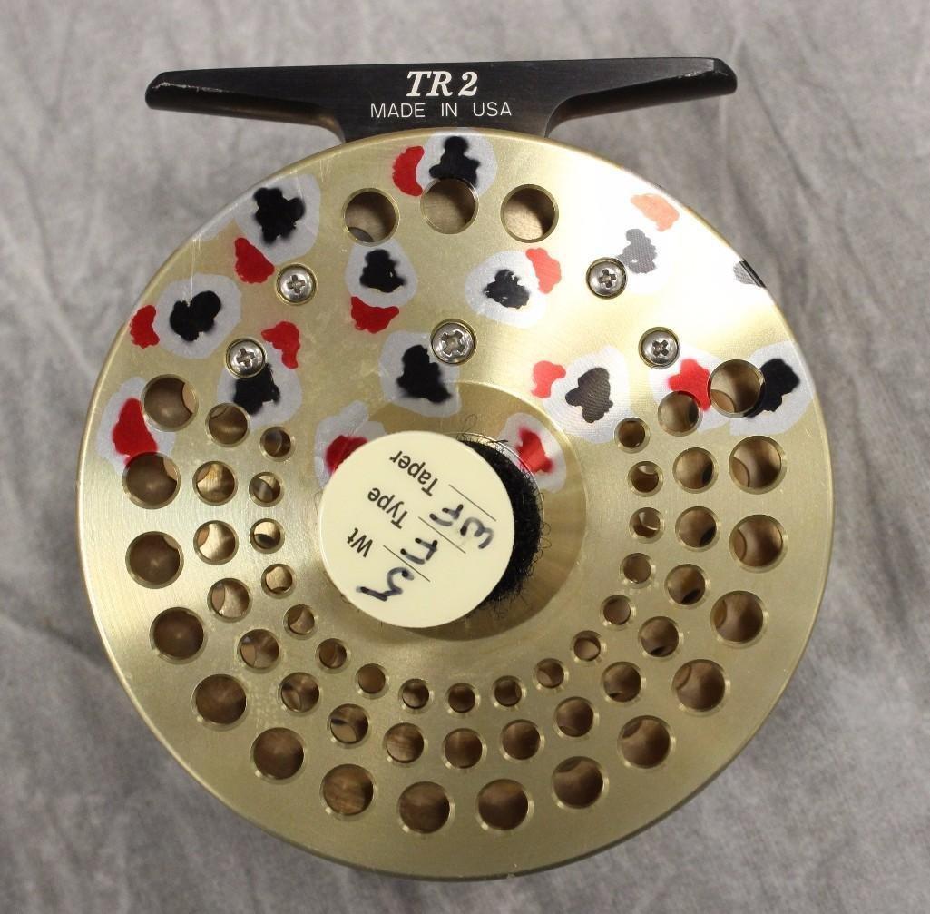 Abel TR-2 Gold Model Fly Reel - 3