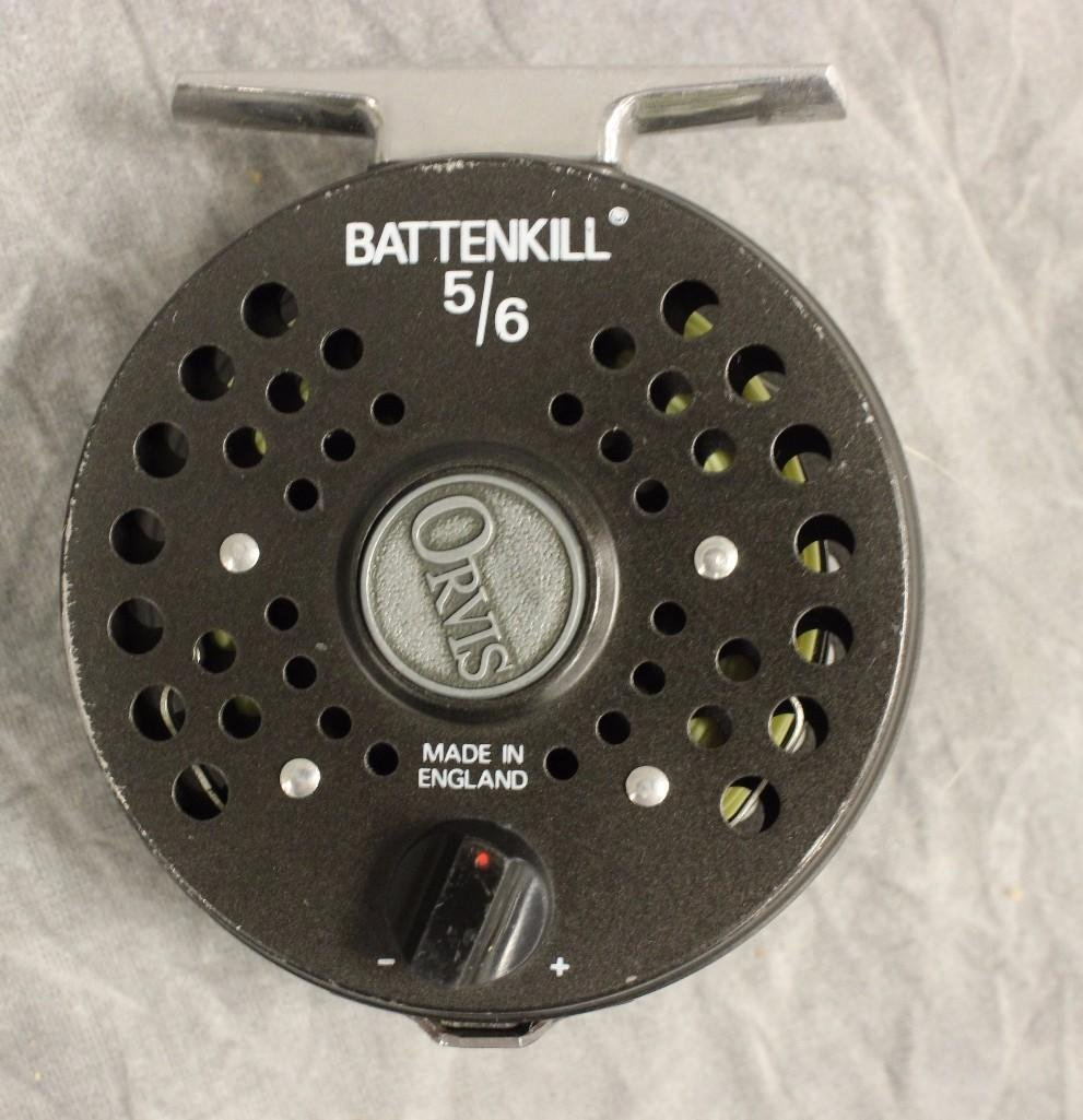 Orvis Battenkill 5/6 Fly Reel and Orvis Spool - 2