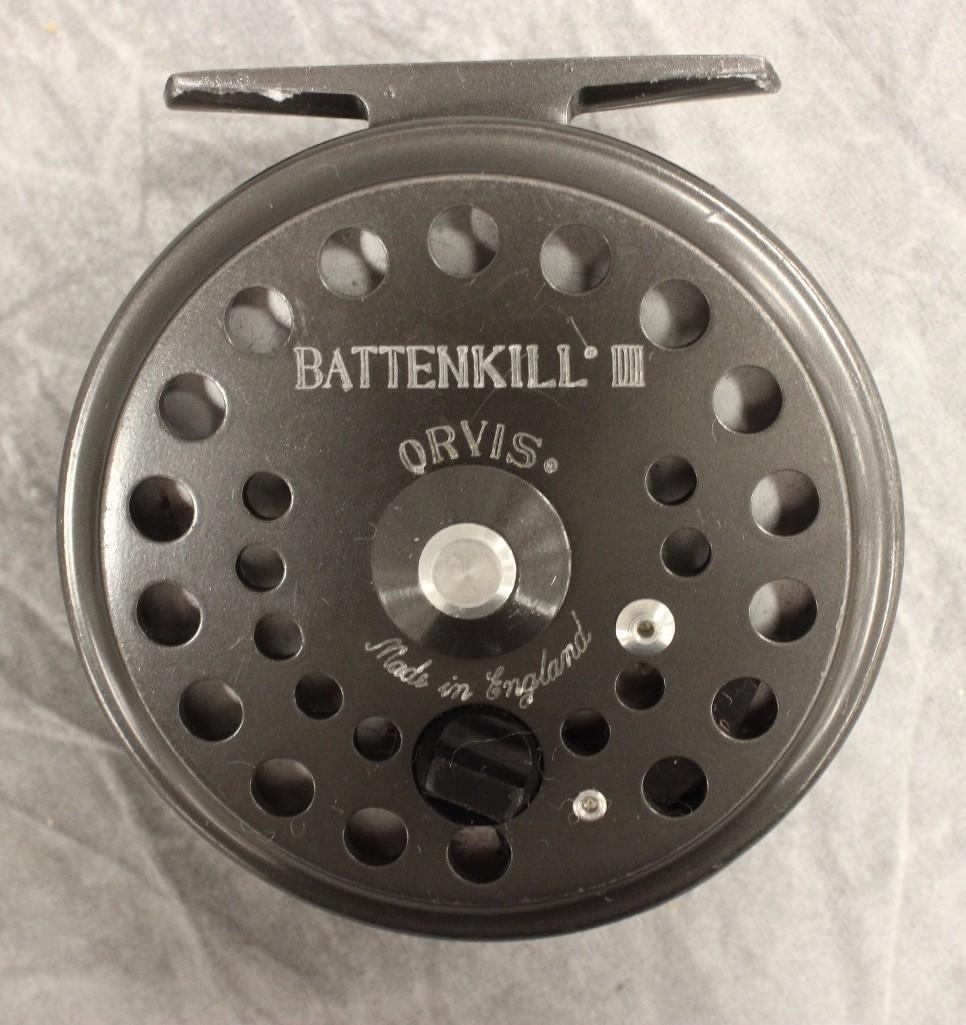 Orvis Battenkill #III Fly Reel and Spool - 2