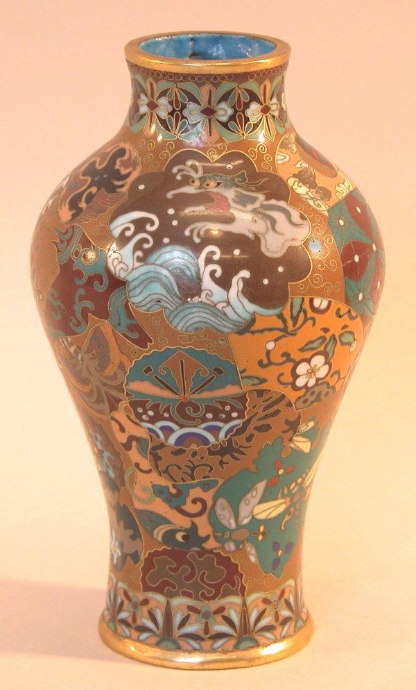 4: Cloisonné Vase.