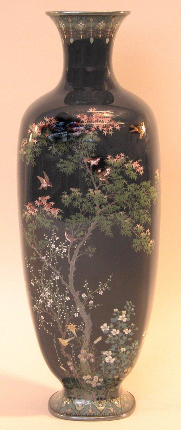 11: Cloisonné Vase – Hayashi Kodenji.