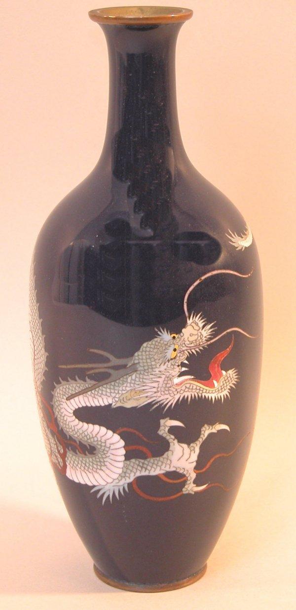 17: Cloisonné Vase.