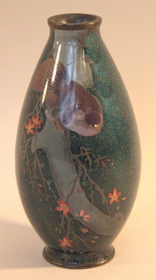 20: Cloisonné Vase.