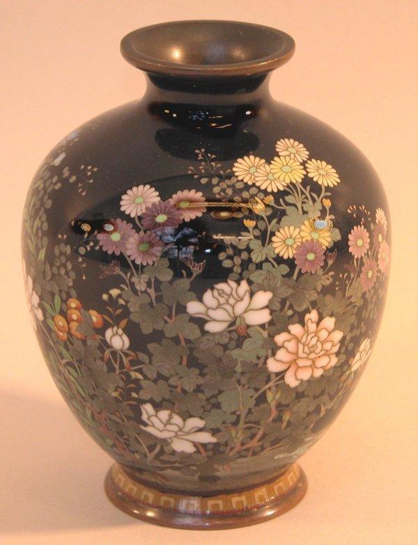 23: Cloisonné Vase.