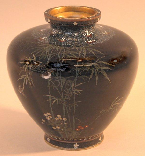 24: Cloisonné Vase.