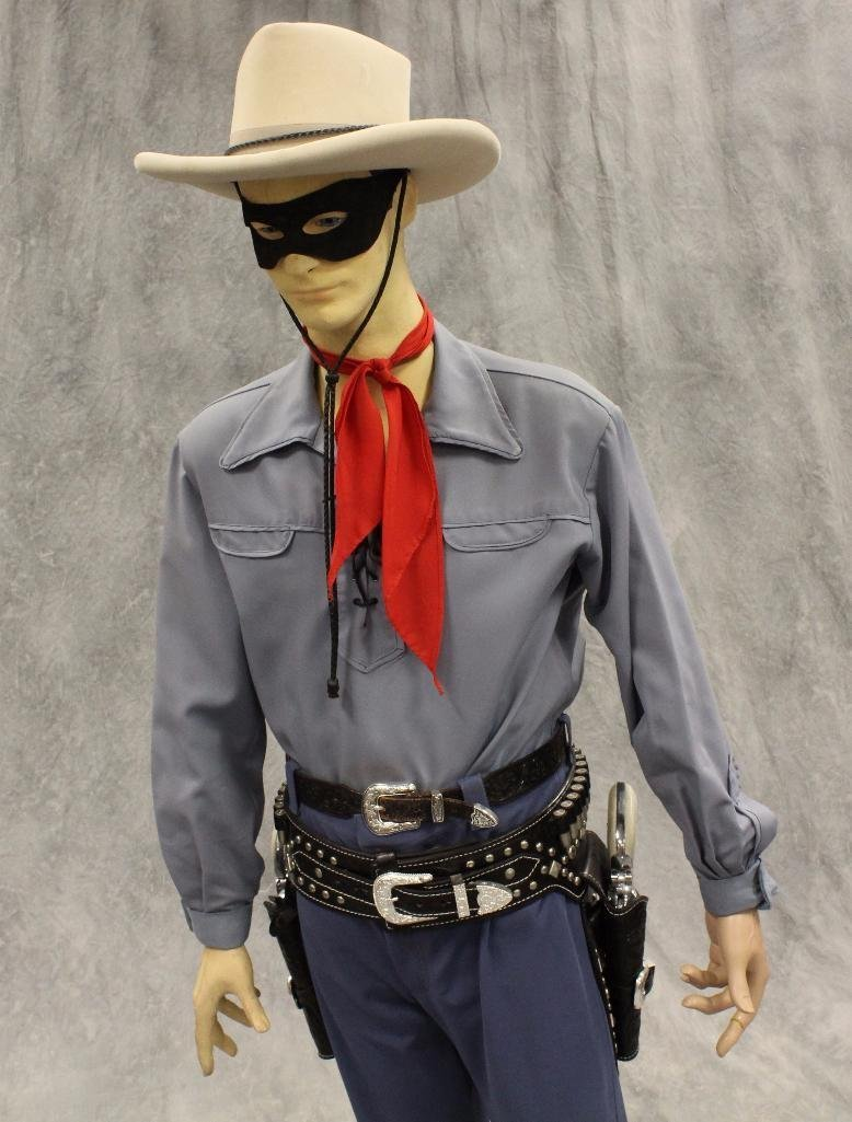Lone Ranger Mannequin with Holster and Pistols - 2