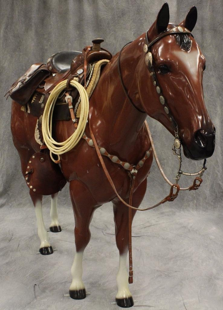 Life-Size Brown Horse
